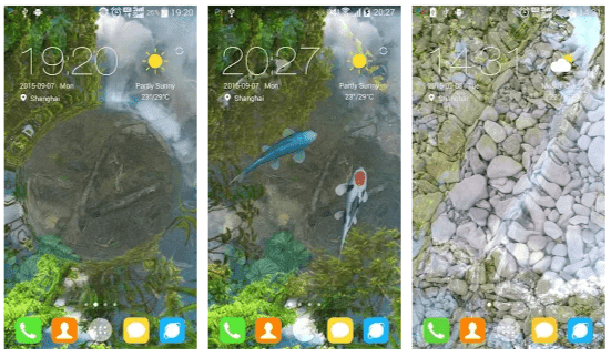 Water Garden Live Wallpaper Mod Apk
