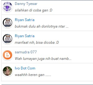Cara Membuat Recent Comment Di Blog