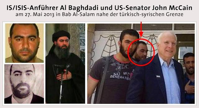 Resultado de imagen de McCain su apoyo al yihadismo y nazis de Kiev