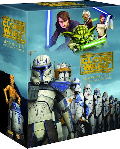 Star Wars La guerra De Los Clones Serie Completa Español Latino