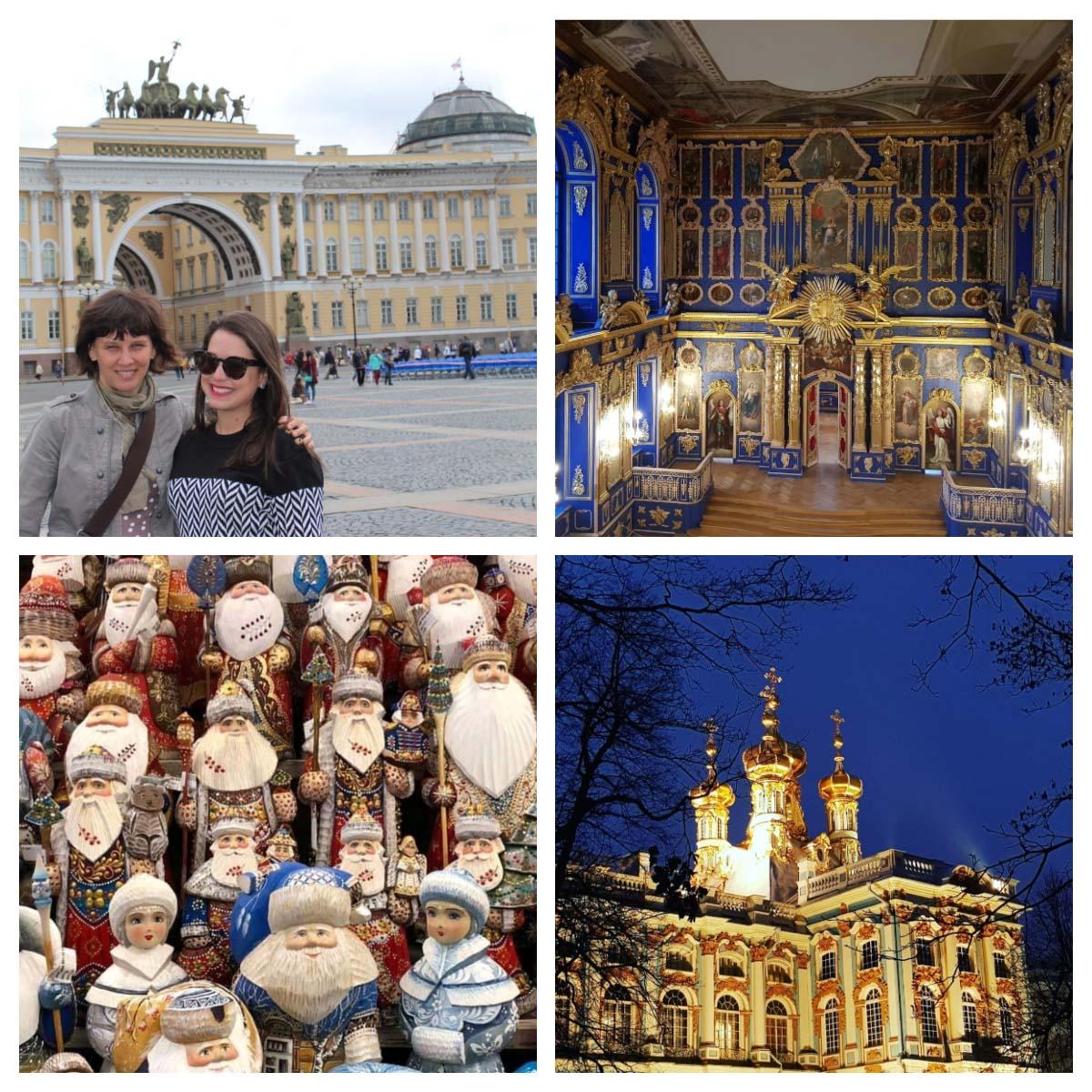 Guia de turismo em português em São Petersburgo