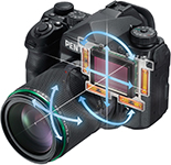 Pentax K-1 фото полный кадр