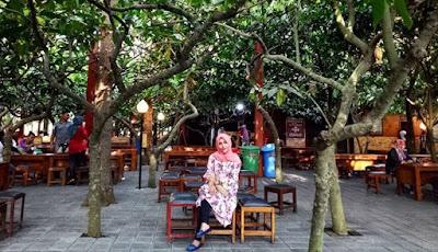 Suasana Kampung Cokelat Blitar