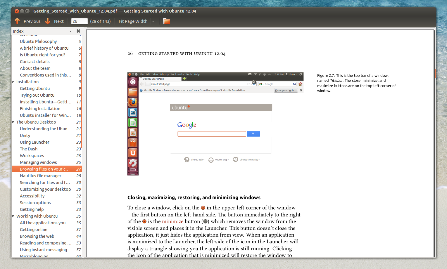 Download `Getting Started with Ubuntu 12 04` PDF Manual ~ Web