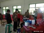 Wakil Bupati Ngawi Pantau Vaksinasi di Desa Tulakan