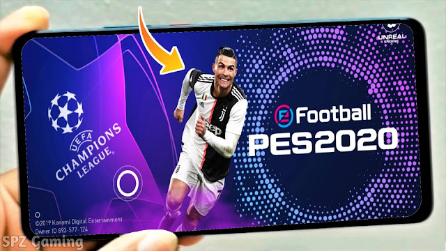 PES 2020 Mobile Best Patch UCL Graphics V4.6.0 Android Original Logos,Kits High Graphics
