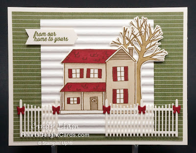 Heart's Delight Cards, Festive Farmhouse, Farmhouse Christmas, Stampin' Up!