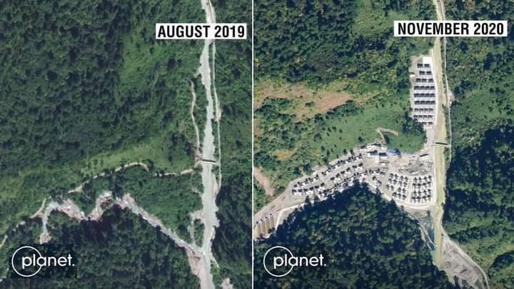 Pantauan Satelit, China Telah Membangun Desa Baru di Arunachal Pradesh
