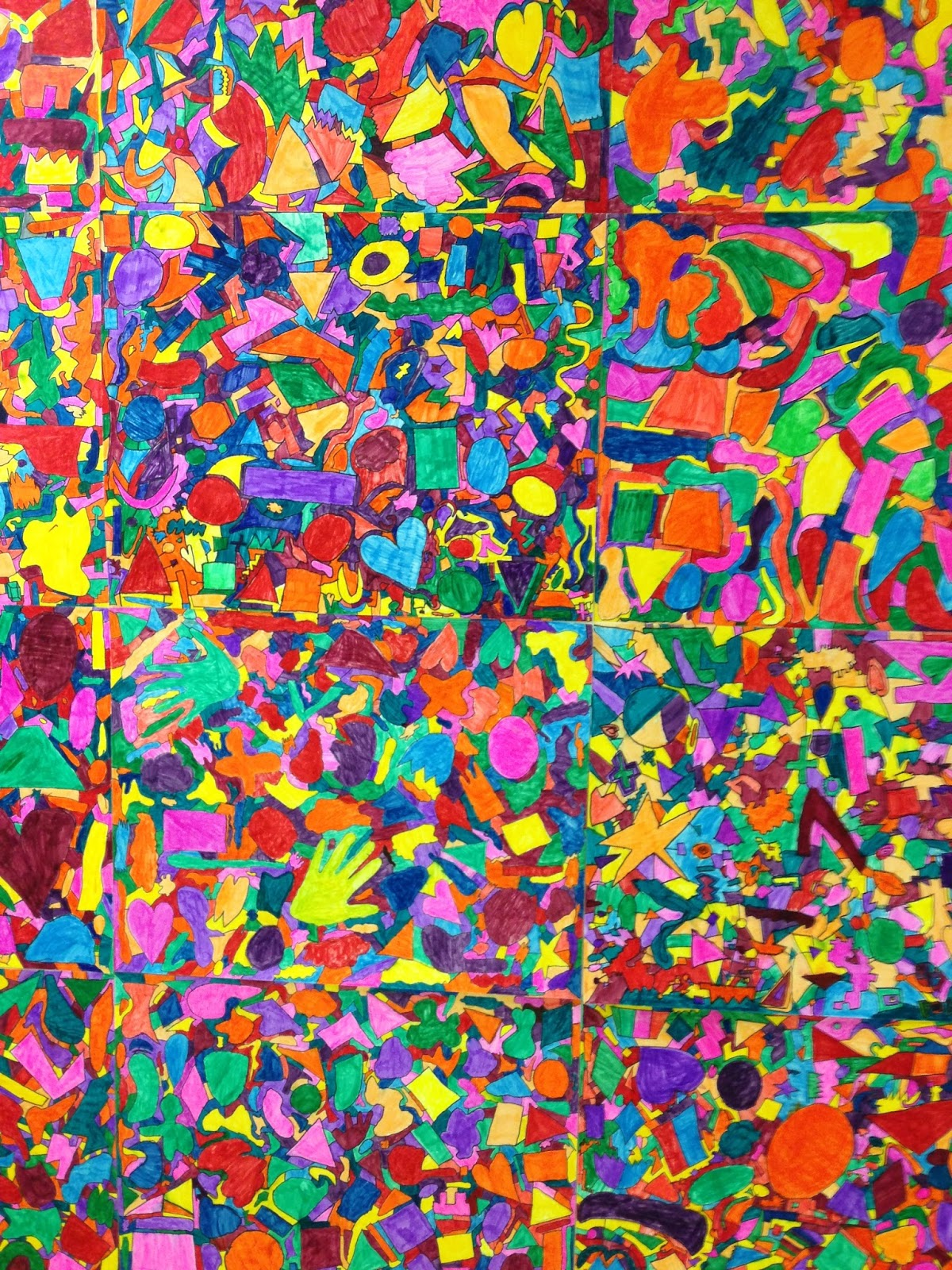 Apex Elementary Art Color Explosion