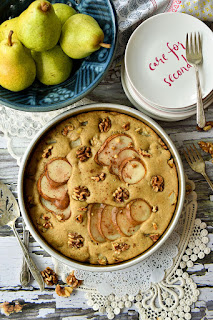 Easy Vegan Pear Cake Recipe
