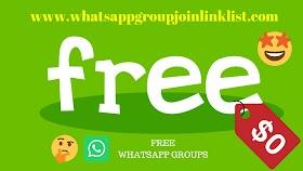 Free WhatsApp Groups: Free WhatsApp Group Join Link List