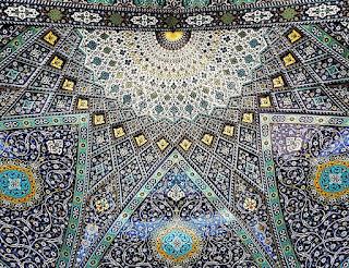 Green Pear Diaries, arquitectura, arquitectura persa, Irán, mezquitas, Mezquita Hazrat-Masoumeh en Qom