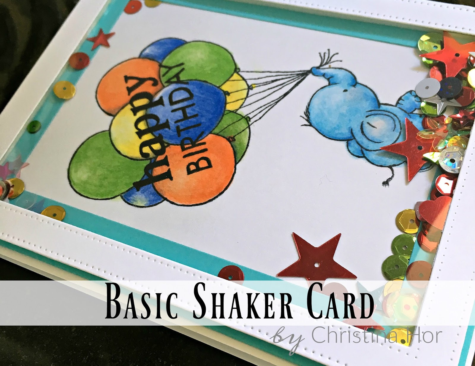 Shaker Cards Tutorial