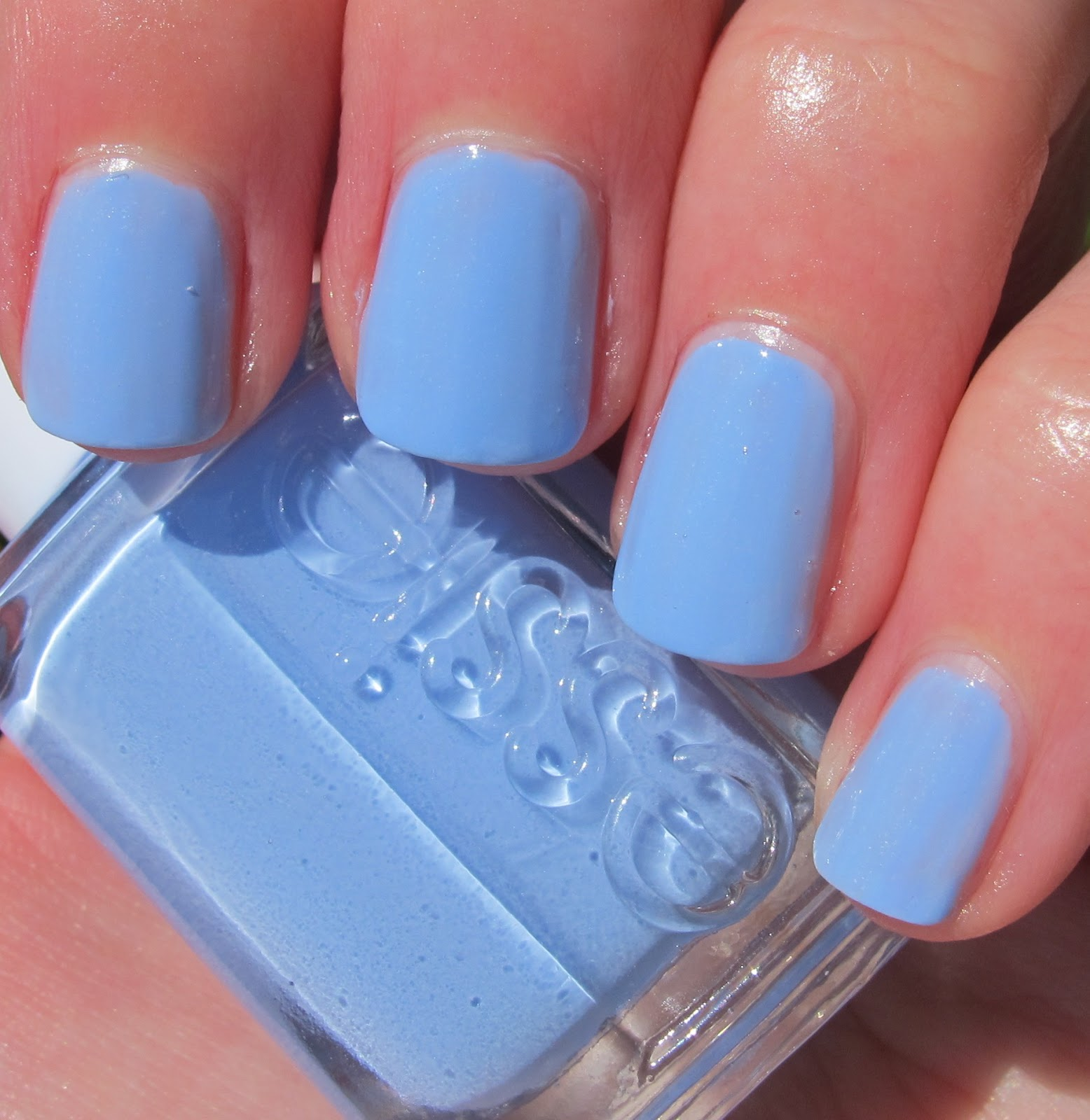 Blue Nail Polish Names: Never Enough Nails: Essie Bikini So Teeny... What's In A Name?