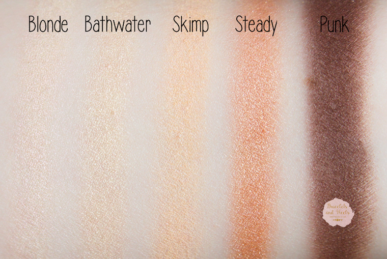 Swatches Urban Decay