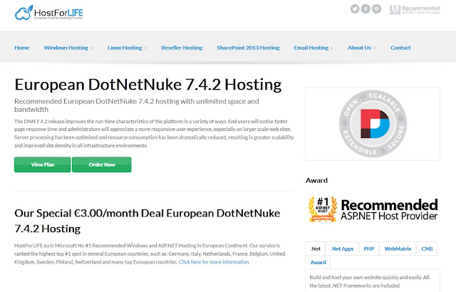 Which Provider is The Best Cheap DotNetNuke 7.4.2 Hosting in UK?