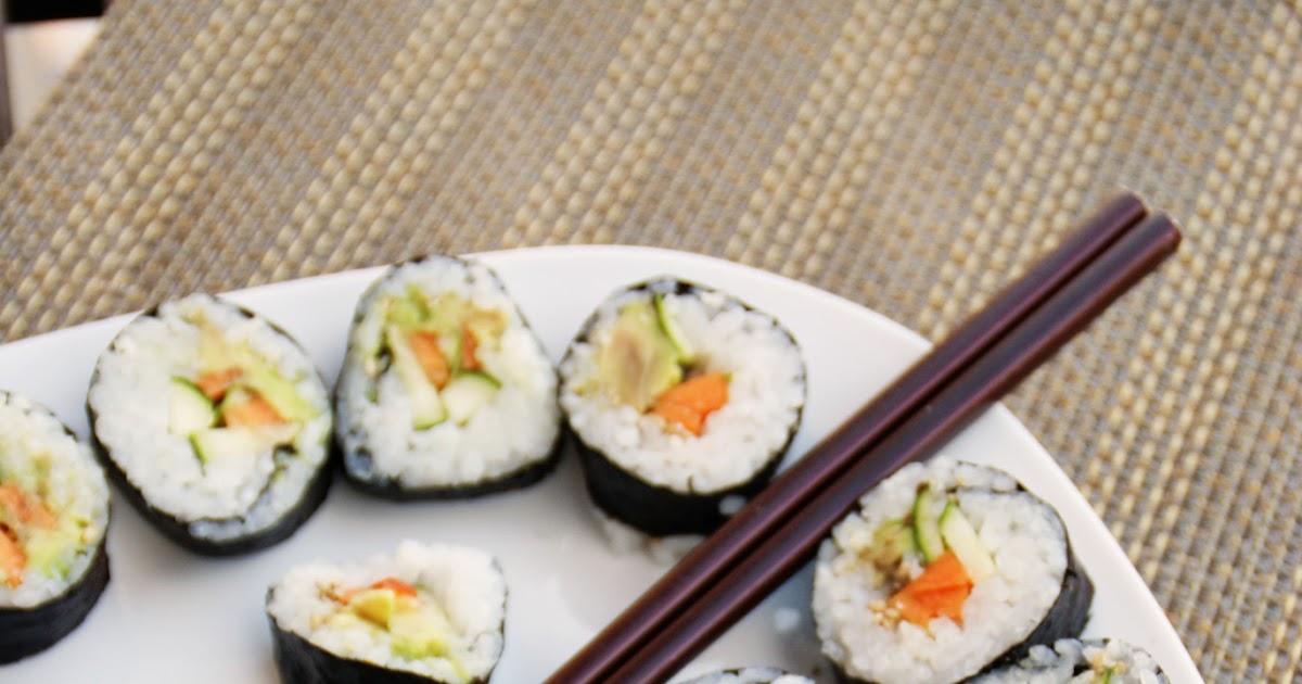 Perfektes Sushi (natürlich vegan!)