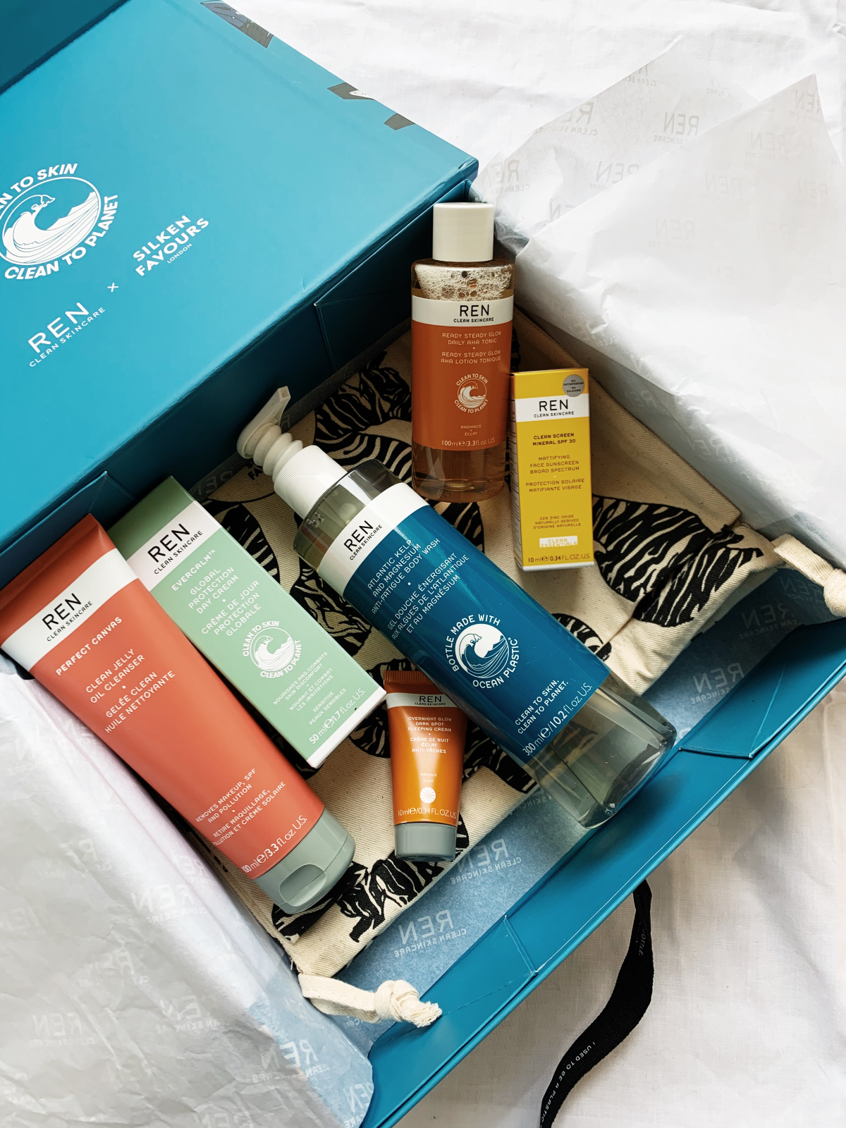 REN X Selfridges Project Earth Pop Up Shop and Beauty Box