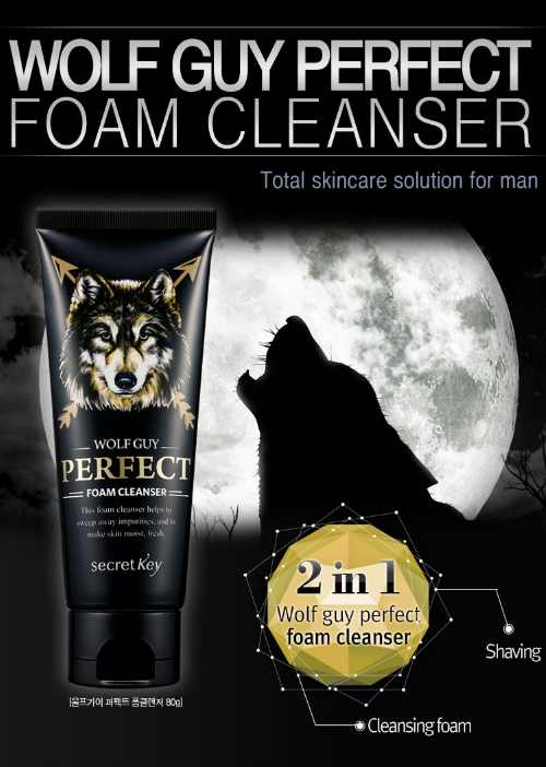 Wolfguy Perfect Foam Cleanser