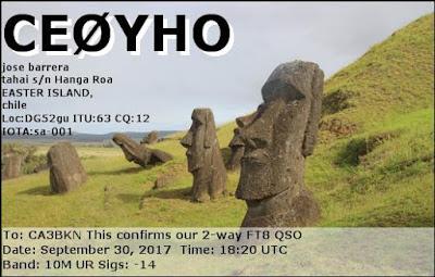 CE0YHO EASTER ISLAND ca3bkn