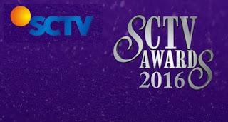 nominasi pemenang SCTV Awards 2016