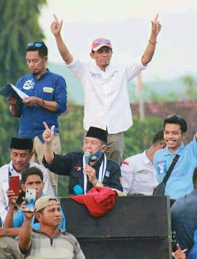 """Ketua Tim Kecamatan Woha """"Bos Juri"""" Optimis SYAFAAD Menang Di Woha"""