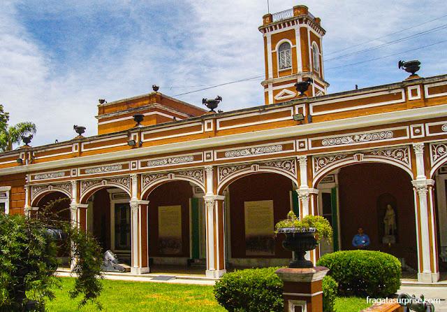 Museu Histórico Nacional da Argentina, no Parque Lezama