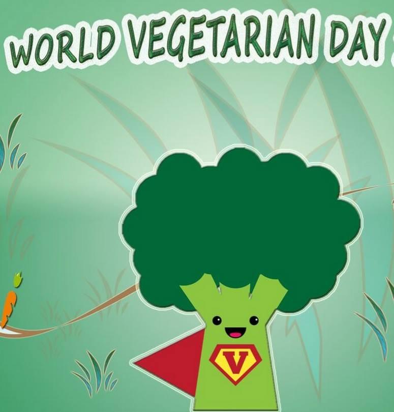 World Vegetarian Day Wishes Beautiful Image