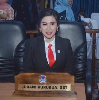 Satu Kursi Perwakilan PSI Jurani Rurubua SST resmi dilantik Anggota DPRD Kota Manado