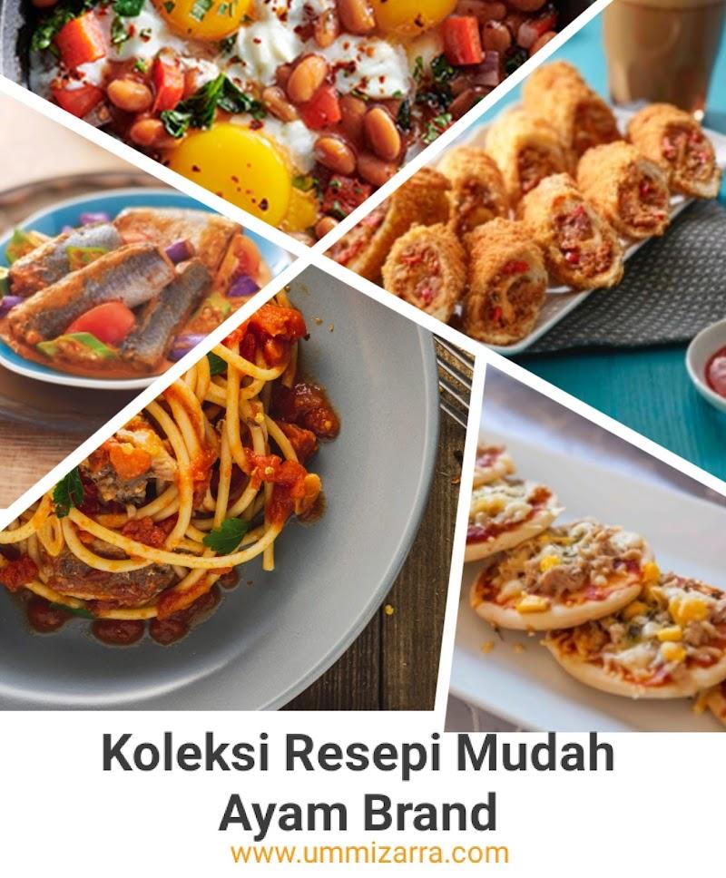 7 Hidangan Cepat dan Mudah Sempena PKP dari Ayam Brand™  #DudukRumah