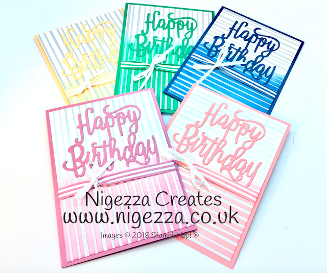 Nigezza Creates Stampin' Up! retiring In Colours