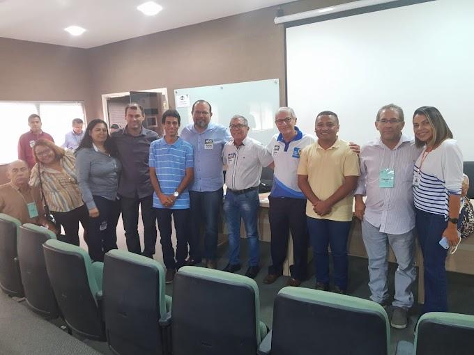Senadorsaenses representam o município em reunião dos Comitês de Bacia Hidrográfica do Acaraú e Coreaú.