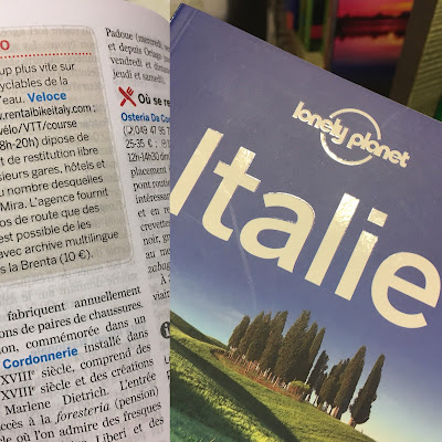 veloce bike rental review Lonely Planet travelbooks