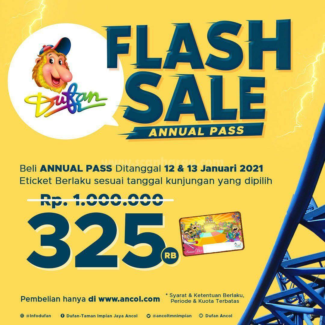 DUFAN FLASH SALE - Harga Annual Pass Ecard hanya Rp 325.000