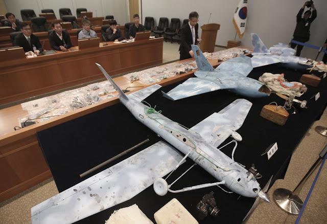 North Korea's drones North Korea's uav الطائرات دون طيار الكورية الشمالية الدرونات الكورية الشمالية