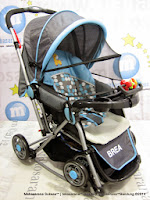 Kereta Bayi Does DS296 Brea Rocker - Hadap Depan atau Belakang