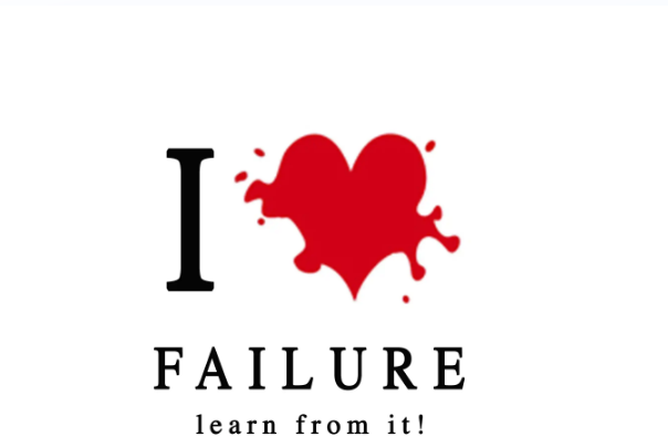 I am in love with failure