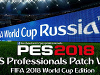 Update Patch PES 2018 dari PES Professionals V2.2 WC Edition