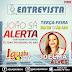 Joelma Alves concederá entrevista ao programa João Sá Alerta pela Iguaba FM de Coronel João Sá/BA