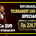 New Promo Tournament LiveGame