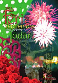 Jódar - Feria de Septiembre 2014 - Cartel