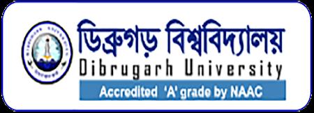 Dibrugarh University Assistant Professor Recruitment 2021