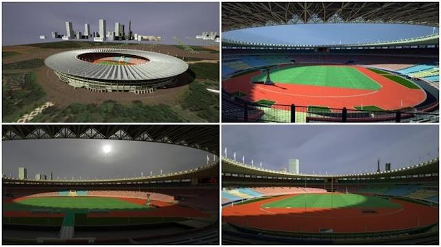 PES 2017 New Gelora Bung Karno Stadium dari Zikint
