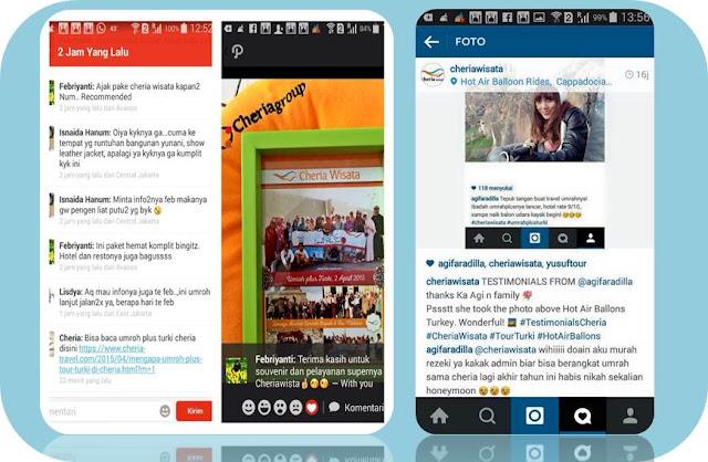 Testimoni Pengguna Cheria Holiday - Blog Mas Hendra