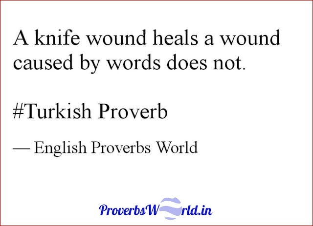 A knife wound heals