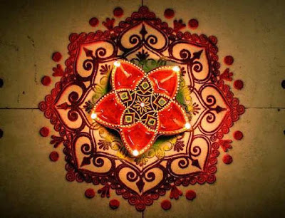 Dotted Rangoli Design Images for Happy New Year
