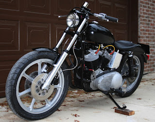 black sportster xlch 1969 custom
