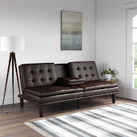Gorgeous Leather Futon