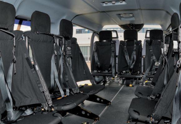 Airbus H145M interior