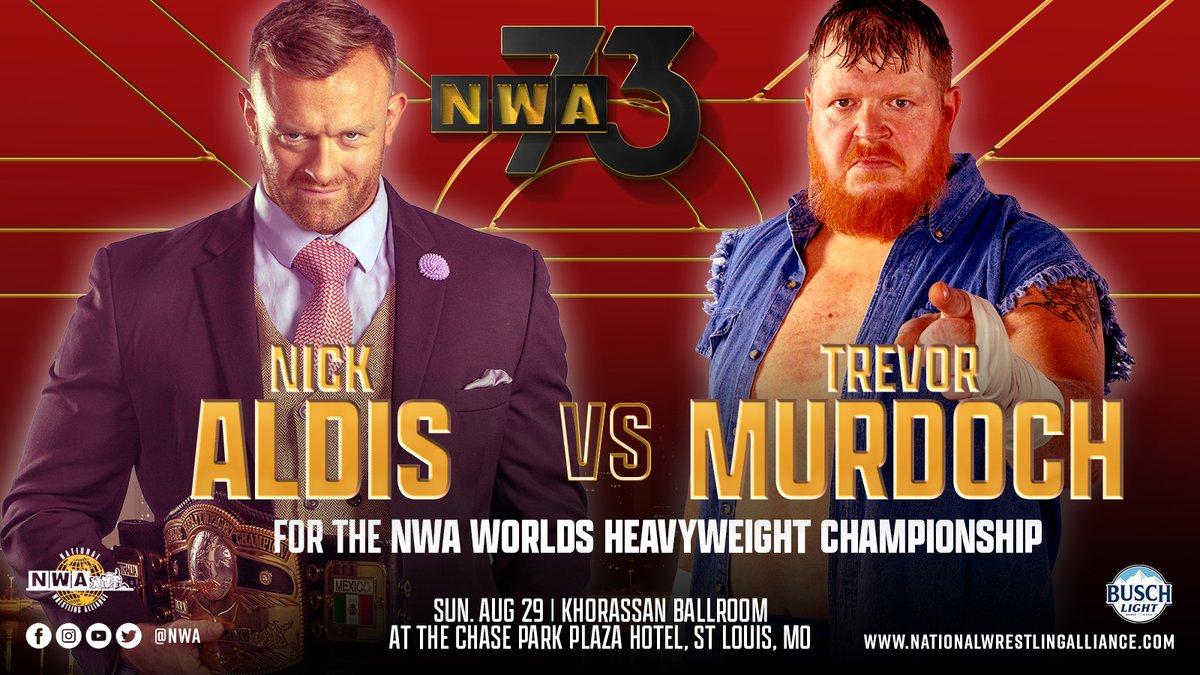 Comentários e Notas: NWA 73th Anniversary Show